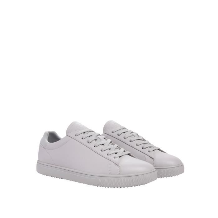 Clae Sneakers gris Homme CLA01297-MGY AW17MEPAC