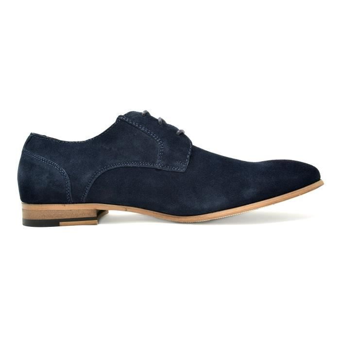 Bruno Marc Constiano-1 Suede Oxfords Chaussures en cuir WTHRF Taille-42 Abq71sVyHN