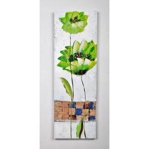 TABLEAU - TOILE Tableau déco Fleurs  73 -  Toile peinte à la main