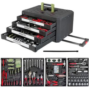 BOITE A OUTILS Boîte à outils 213 pièces Boîte à outils Coffret à