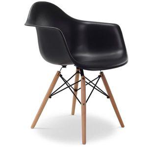 CHAISE Chaise Eames DAW Style Noir