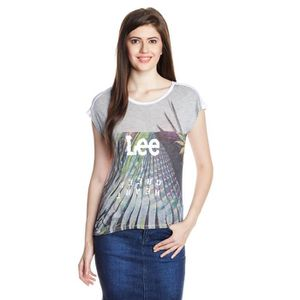 T-SHIRT Lee Women's printed t-shirt 1OAE7I Taille-40