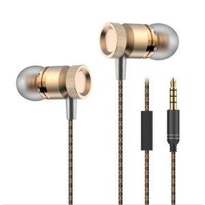 CASQUE - ÉCOUTEURS Ecouteurs Métal pour SONY Xperia M avec Micro Kit