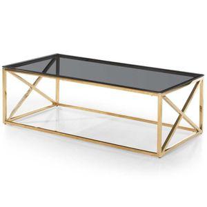 TABLE BASSE Paris Prix - Table Basse Verre Design