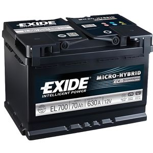 BATTERIE VÉHICULE Batterie de démarrage EXIDE EL700