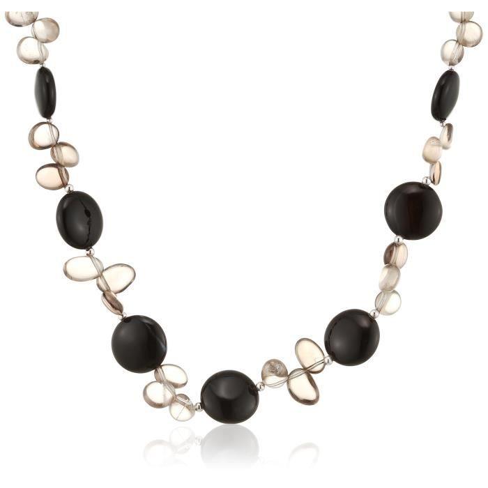 Jwnl178 - Collier Femme - Argent 925-1000 3.0 Gr - Agate-quartz Z8P0R