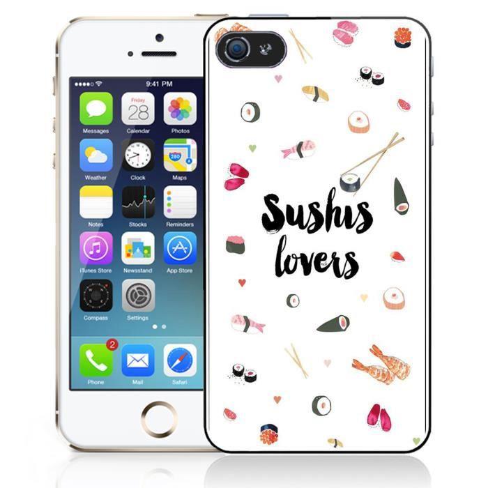 coque iphone 8 sushi