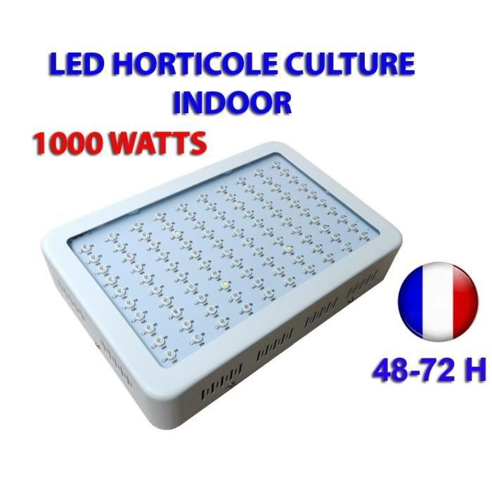 Intérieure Led Culture 1000w Horticole Lampe Indoor Grow Hydroponie OwPTkiZulX