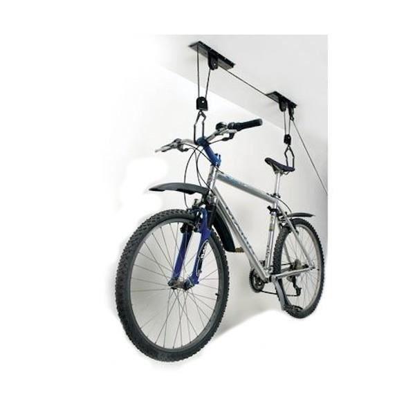 Merveilleux Support Vélo   A Suspension   Range Vélo   Résiu2026