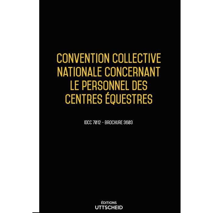 Convention Collective Personnel Cabinet Avocat