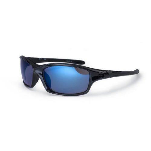 Bloc Daytona Lunettes de soleil Noir/Bleu Lens