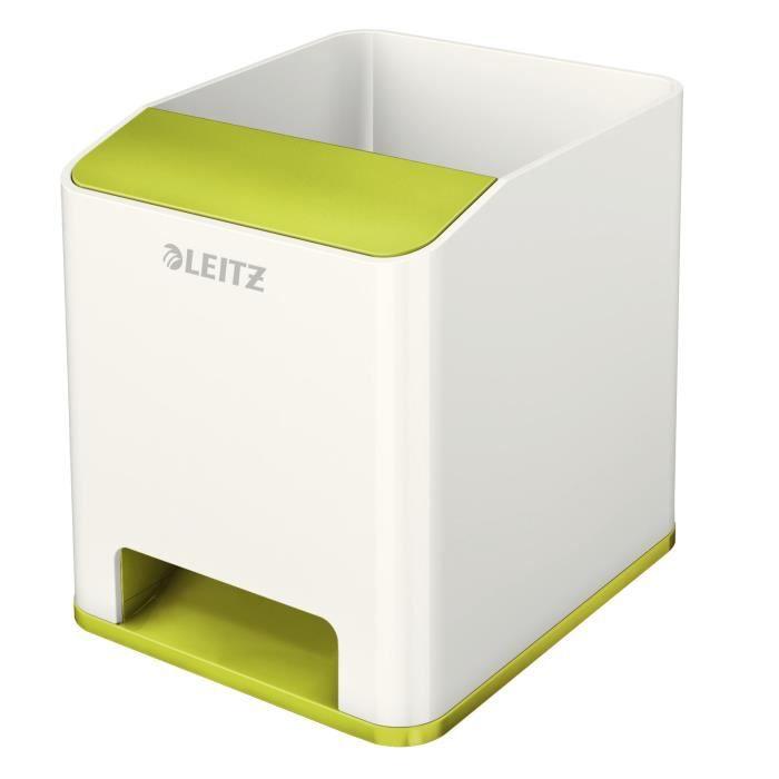 Boîte de classement LEITZ Pot à crayon booster de son - Vert