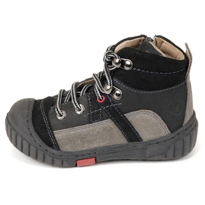 Garvalin - Boots Garcon Noir 13…