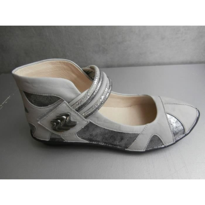 chaussure plate fugitive utta metal gris