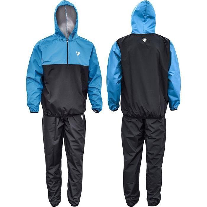 0425a1c91c8 RDX Combinaison Sudation Fitness Capuche Survêtement Minceur Entraînement  Sauna Suit Perte De Poids