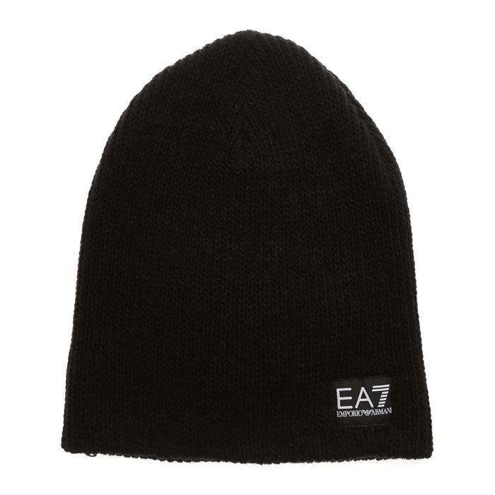 Bonnet EA7 Emporio Armani - Ref. 275718-7A394-00020 Noir Noir ... 6664549ac3b