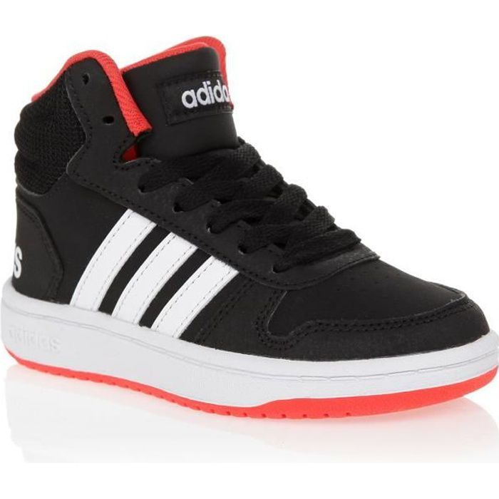 adidas Originals Hoops Mid 20 Rouge Blanc Gris Chaussures