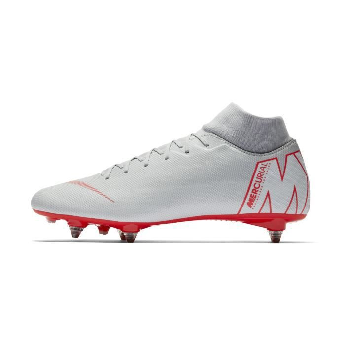 the latest 1e9fd ea03a Chaussures football Nike Mercurial Superfly Academy VI SG-PRO Gris