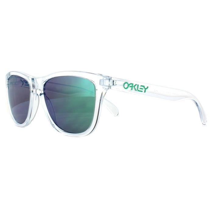 a790ceed1e Oakley Sunglasses Frogskins OO9013-D6 Crystal Clear Prizm Jade ...