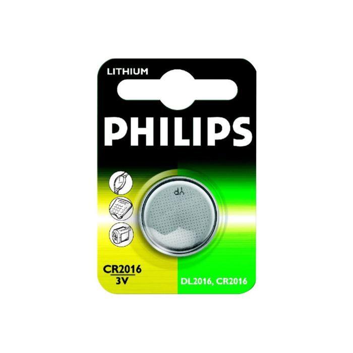 PILES Philips CR2016 - Batterie CR2016 Li 75 mAh…