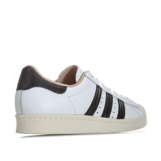 Baskets adidas Originals Superstar 80s pour femme en blanc. / Blanc Blanc - Achat / blanc. Vente basket 57deff