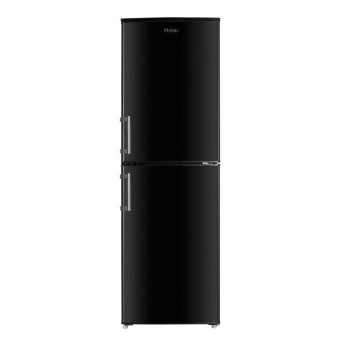 Congélateur bas - 246L (143+103) - Froid statique - A+ - L 55cm x H 174,5cm - Noir brillantREFRIGERATEUR CLASSIQUE