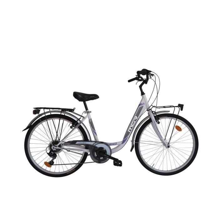 MGR Vélo de ville Vénus - Femme - Blanc