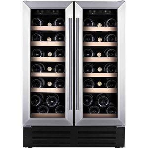 TEMPTECH VWCR36DS - Cave ? vin de service - 38 bouteilles - Encastrement possible - Classe C - L 60 x H 86,3 cm
