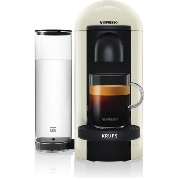 KRUPS NESPRESSO Vertuo Plus YY3916FD - Blanc - 1260W - Recettes programmablesMACHINE A CAFE