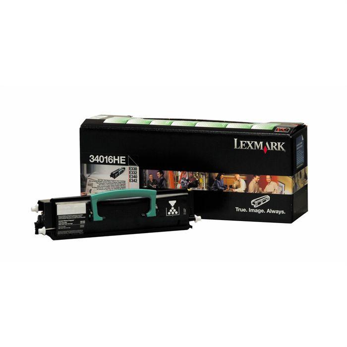LEXMARK Cartouche de toner  - E33X, E340, E342n - 6.000 pages - Pack de 1 - Noir
