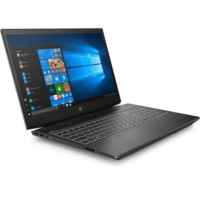 """HP PC Portable Gamer Pavilion 15-cx0006nf - 15,6"""" FHD - Core i5-8300H - RAM 8Go - Stockage 1To"""