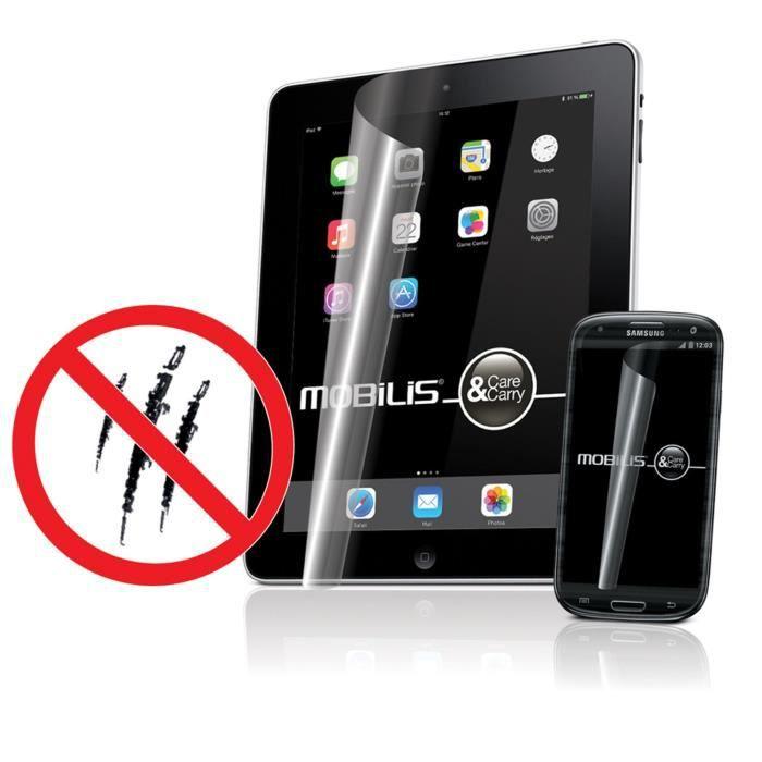 Mobilis protège-écran anti-rayures pour iPhone 6/6S- 2 unités