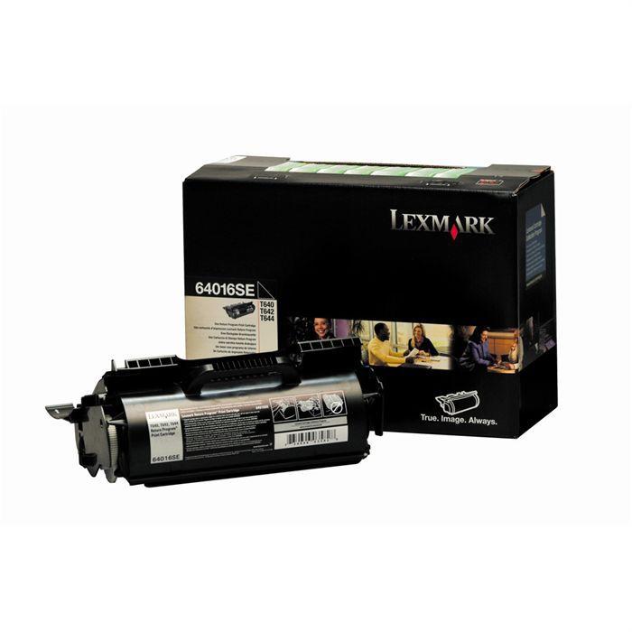LEXMARK Cartouche de toner  - T640, T642, T644 - 6.000 pages - Pack de 1 - Noir