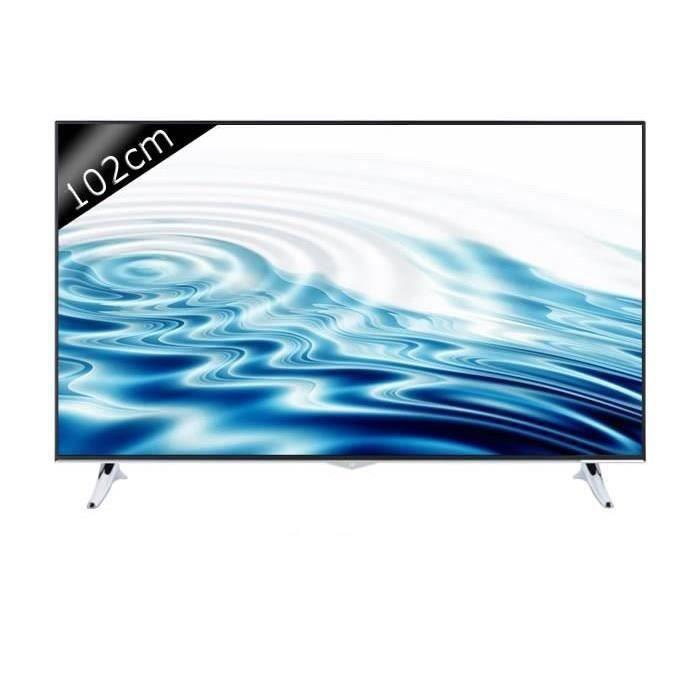 continental edison tv 40k0116b3 uhd 4k 102cm 40 pouces led smart tv 3 hdmi classe. Black Bedroom Furniture Sets. Home Design Ideas