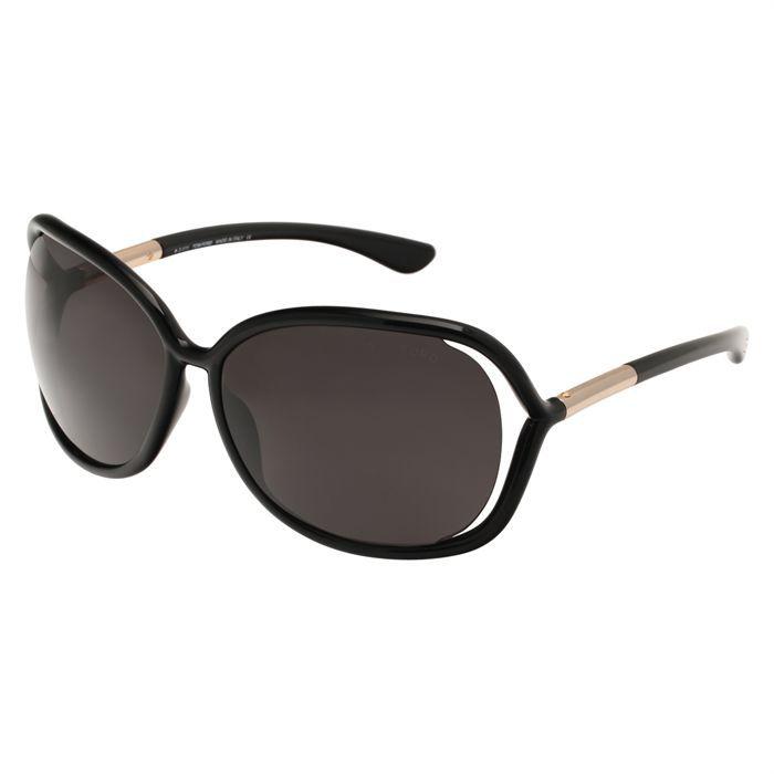 TOM FORD Lunettes de Soleil Femme Noir - Achat   Vente lunettes de ... 1625fa37b74f
