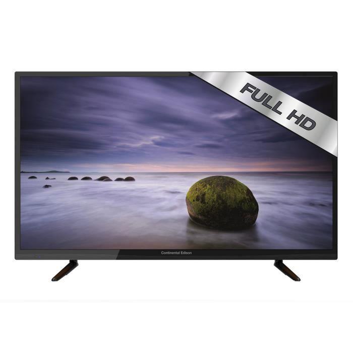 Téléviseur LED CONTINENTAL EDISON 480816B7 TV LED Full HD 121.9cm