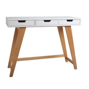 console meuble blanc laque achat vente console meuble blanc laque pas cher soldes d s le. Black Bedroom Furniture Sets. Home Design Ideas