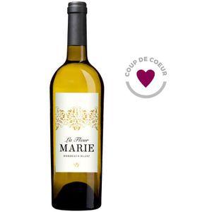 VIN BLANC La Fleur Marie 2016  Bordeaux - Vin blanc de Borde