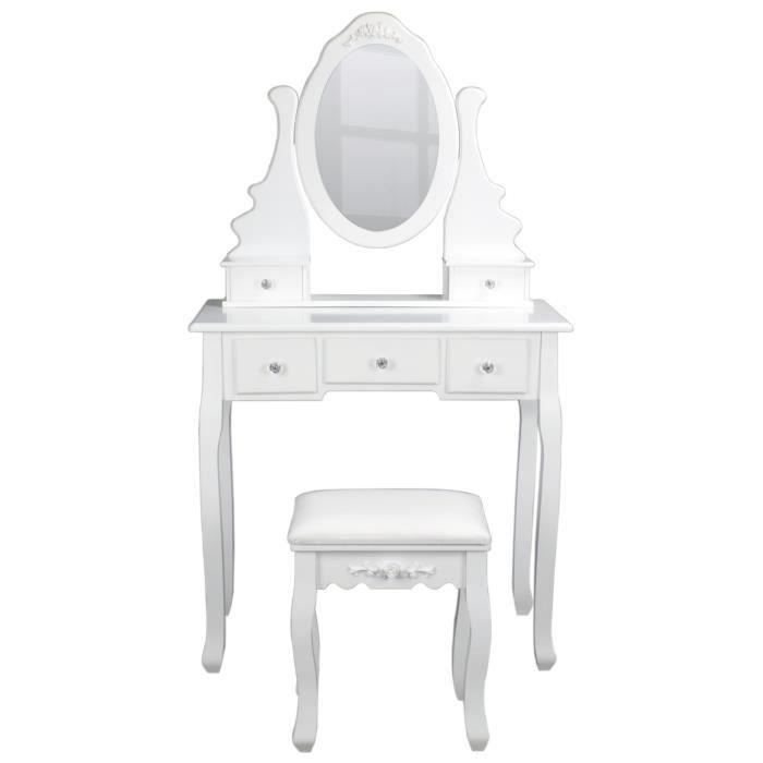 Meuble coiffeuse avec miroir achat vente meuble coiffeuse avec miroir pas cher cdiscount - Meuble coiffeuse avec miroir pas cher ...