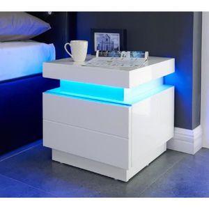 table de chevet achat vente table de chevet pas cher. Black Bedroom Furniture Sets. Home Design Ideas