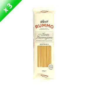 PÂTES ALIMENTAIRES RUMMO Lot de 3 Bucatini N°6 - 500 g