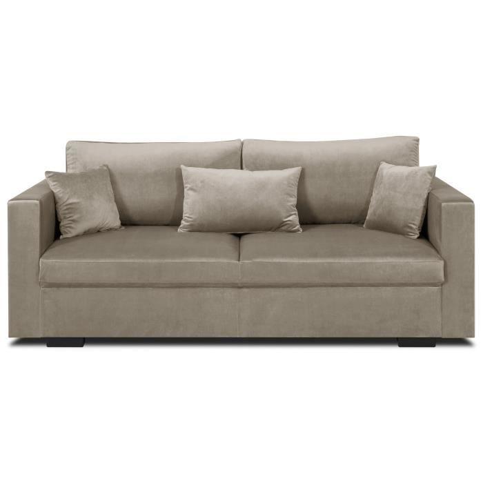 canapes convertibles 3 places achat vente pas cher. Black Bedroom Furniture Sets. Home Design Ideas