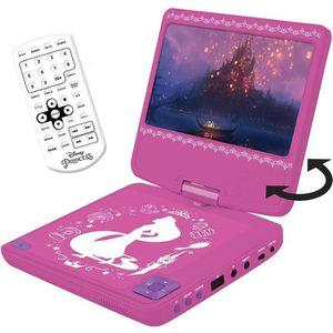 LECTEUR DVD ENFANT LEXIBOOK - DISNEY PRINCESSES - Lecteur DVD portabl