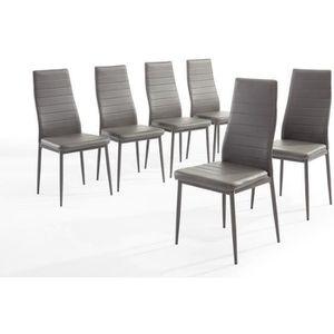 Chaises achat vente chaises pas cher cdiscount for Chaises pas cher lot de 6