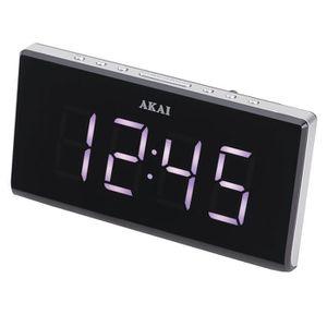 Radio réveil AKAI AC-136KS Radio Réveil Snooze