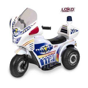 MOTO - SCOOTER Moto de Police Electrique Enfant