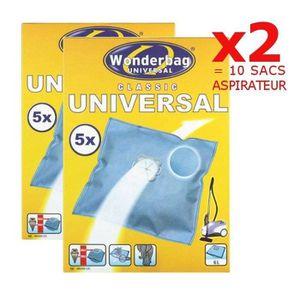 SAC ASPIRATEUR WPRO WB406-MW Sac pour aspirateur : UNIVERSEL X2