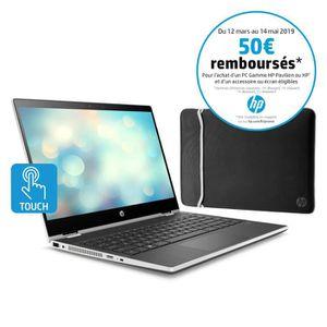 ORDINATEUR PORTABLE HP PC Portable Pavilion x360 14-cd0016nf - 14