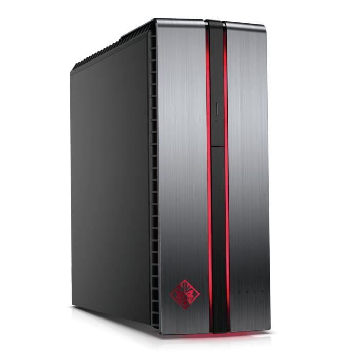 UNITÉ CENTRALE  HP PC Gamer OMEN - 870016nf - 8Go de RAM - Windows