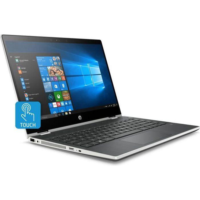 """ORDINATEUR PORTABLE HP PC Portable Pavilion x360 14-cd0016nf - 14"""" HD"""
